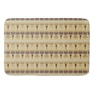 ethnic african tribal pattern bath mat