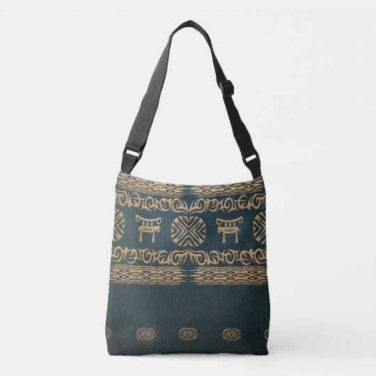 ethnic african tribal pattern crossbody bag