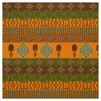 ethnic african  tribal pattern fabric