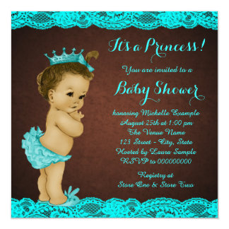 Ethnic Baby Shower Card