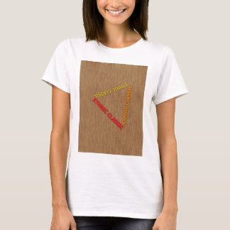 Ethnic Classic With Background wood T-Shirt