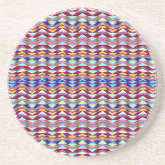 Ethnic Colorful Pattern Coaster