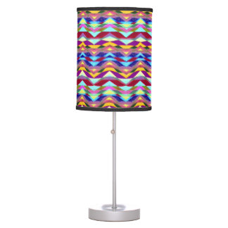 Ethnic Colorful Pattern Desk Lamp