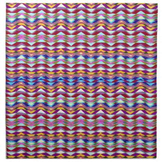 Ethnic Colorful Pattern Napkin