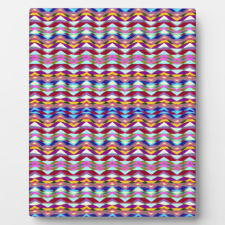 Ethnic Colorful Pattern Plaque