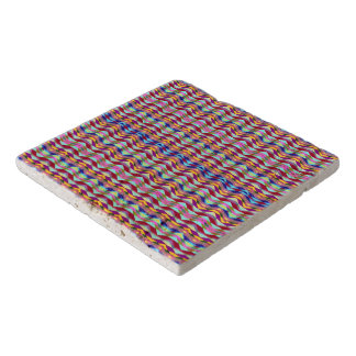 Ethnic Colorful Pattern Trivet