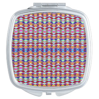Ethnic Colorful Pattern Vanity Mirror