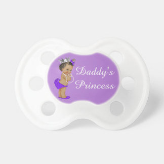 Ethnic Daddy's Princess Purple Pacifier
