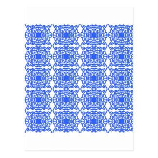 Ethnic Design Post Card
