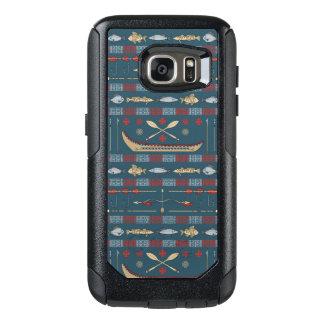 Ethnic Fishing Pattern OtterBox Samsung Galaxy S7 Case