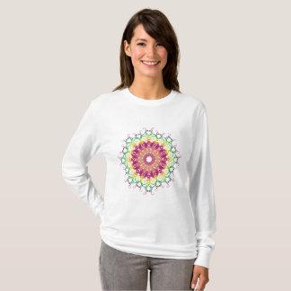 ethnic floral mandala. T-Shirt