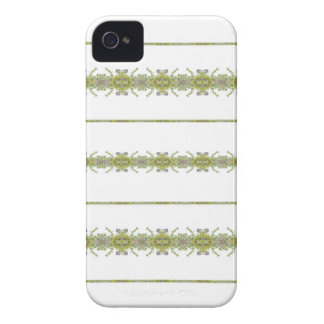 Ethnic Floral Stripes iPhone 4 Cases