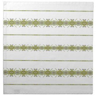 Ethnic Floral Stripes Napkin