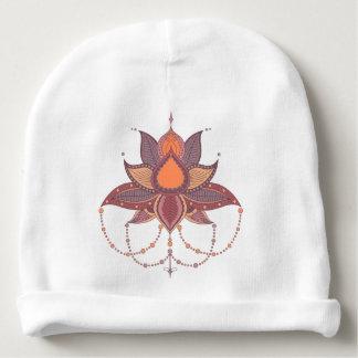 Ethnic flower lotus mandala ornament baby beanie