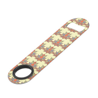 Ethnic flower lotus mandala ornament bar key