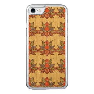 Ethnic flower lotus mandala ornament carved iPhone 8/7 case
