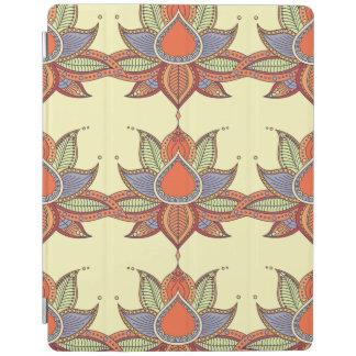 Ethnic flower lotus mandala ornament iPad cover