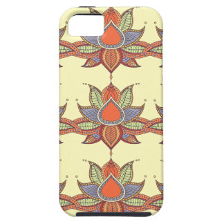 Ethnic flower lotus mandala ornament iPhone 5 covers