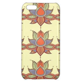 Ethnic flower lotus mandala ornament iPhone 5C case