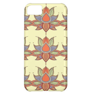 Ethnic flower lotus mandala ornament iPhone 5C cover