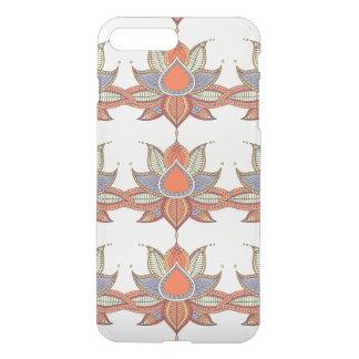 Ethnic flower lotus mandala ornament iPhone 8 plus/7 plus case