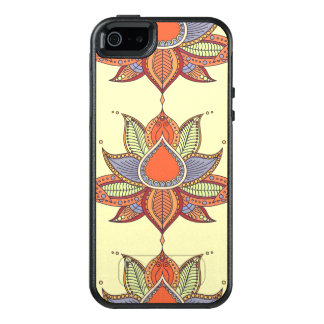 Ethnic flower lotus mandala ornament OtterBox iPhone 5/5s/SE case