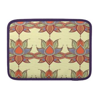 Ethnic flower lotus mandala ornament sleeve for MacBook air