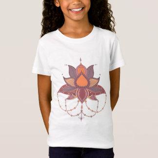 Ethnic flower lotus mandala ornament T-Shirt