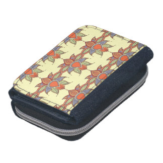 Ethnic flower lotus mandala ornament wallets