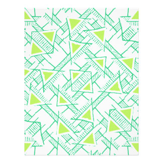 Ethnic Geo Seamless Pattern Custom Letterhead