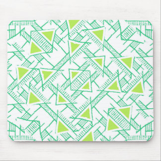 Ethnic Geo Seamless Pattern Mouse Pad