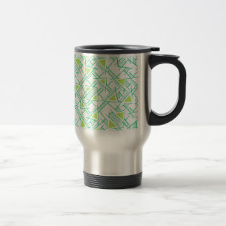 Ethnic Geo Seamless Pattern Travel Mug