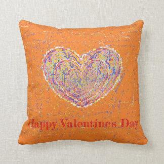 Ethnic Heart Throw Pillow