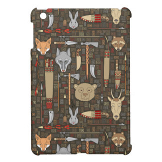 Ethnic Hunting Pattern Case For The iPad Mini