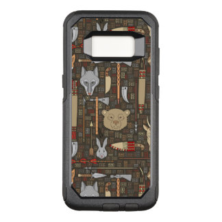 Ethnic Hunting Pattern OtterBox Commuter Samsung Galaxy S8 Case
