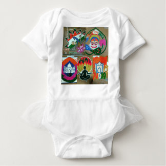 Ethnic Indian design Baby Bodysuit