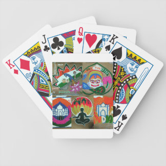 Ethnic Indian design Bicycle Playing Cards