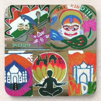 Ethnic Indian design Coaster