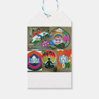Ethnic Indian design Gift Tags