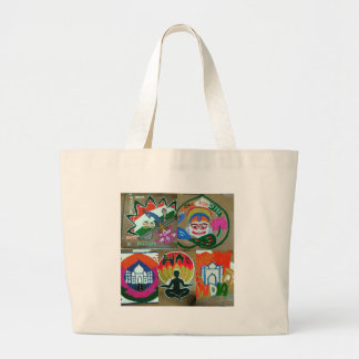 Ethnic Indian design Large Tote Bag