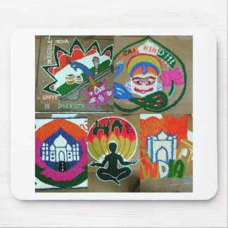 Ethnic Indian design Mouse Pad