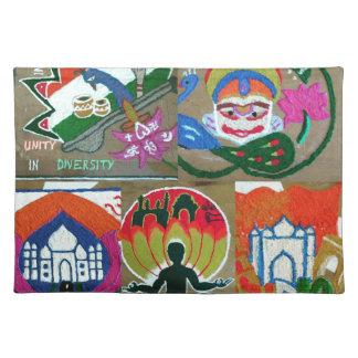 Ethnic Indian design Placemat