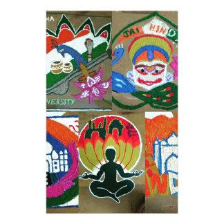 Ethnic Indian design Stationery