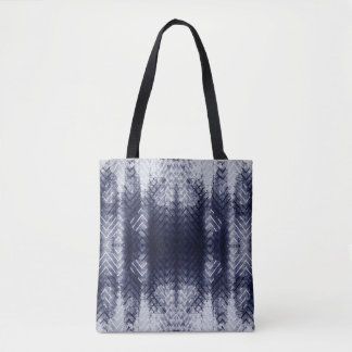 Ethnic Indigo Blue Shibori Tote Bag
