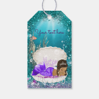 Ethnic Mermaid Gift Tags