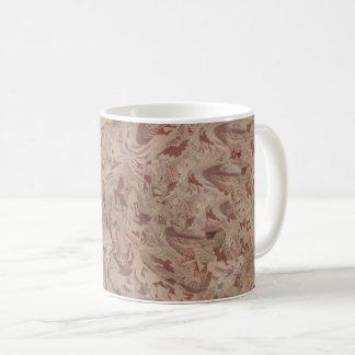 Ethnic Museum Vase Abstracted Coffee Mug