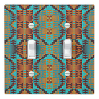 Ethnic Native American Indian Tribal Pattern Art Light Switch Cover