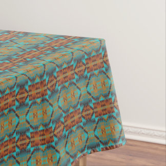 Ethnic Native American Indian Tribal Pattern Art Tablecloth