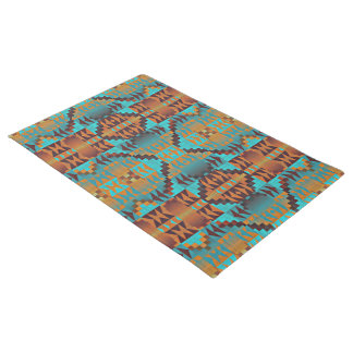 Ethnic Native American Indian Tribal Pattern Doormat