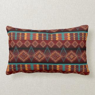ethnic navajo southwestern  pattern lumbar pillow
